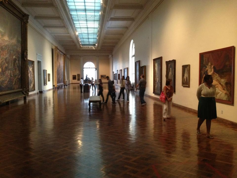Visita do Clube de Arte+Ciência ao Museu Nacional de Belas Artes
