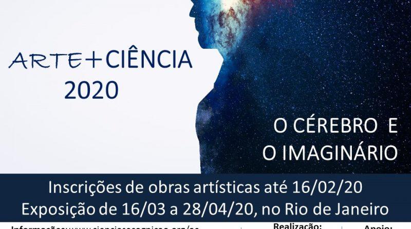 Inscrição de obras para a exposição 'Arte+Ciência 2020'