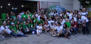 voluntários IV semana