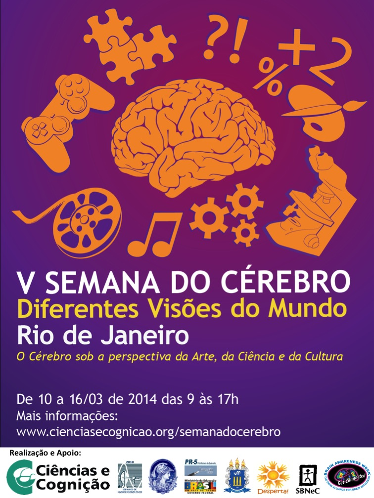 2014 - DIVULGACAO CARTAZ - V SEMANA DO CEREBRO