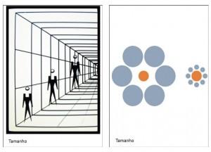 ilusões de tamanho 1