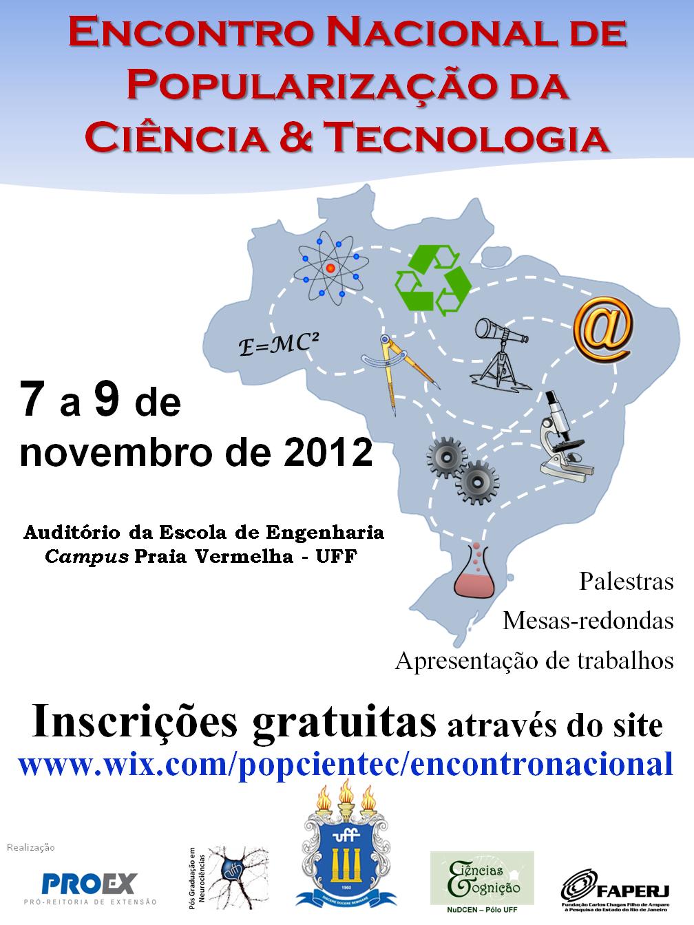Encontro Nacional de Popularização da Ciência & Tecnologia