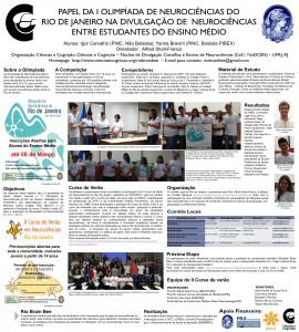 I Olimpíada de Neurociências do Rio de Janeiro