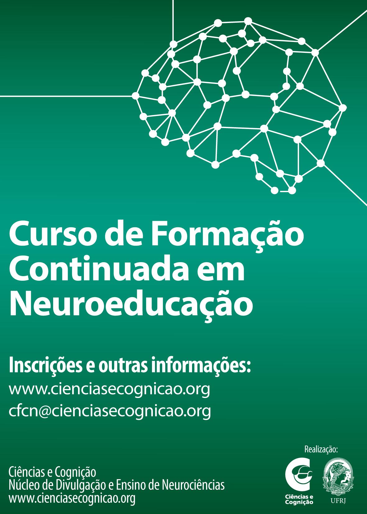 X Curso de Formação Continuada em Neuroeducação – 25 a 29 de janeiro 2016