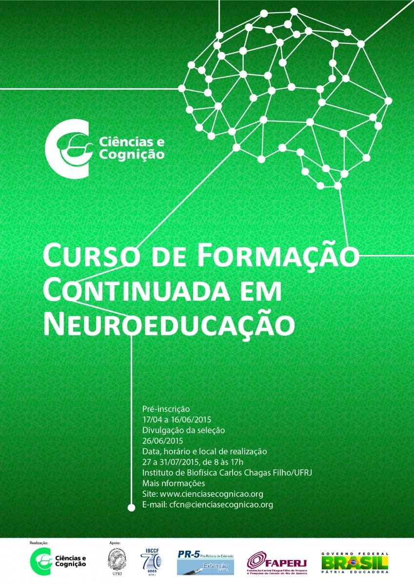 IX CURSO DE FORMAÇÃO CONTINUADA EM NEUROEDUCAÇÃO – 27-31/07/2015 – Rio de Janeiro