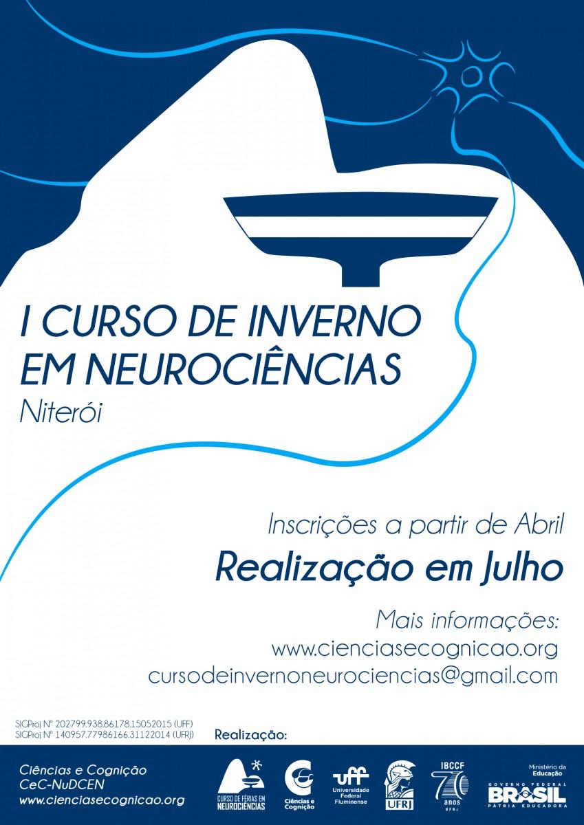 I Curso de Inverno de Neurociências será realizado em julho de 2015