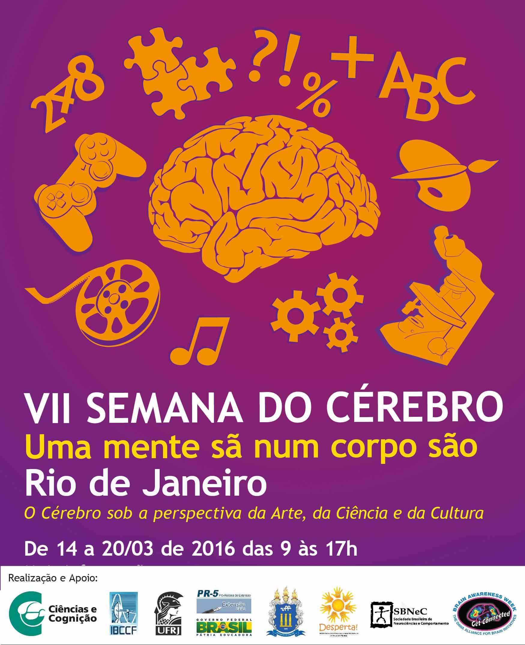 Começaram as atividades da VII Semana do Cérebro no Rio de Janeiro
