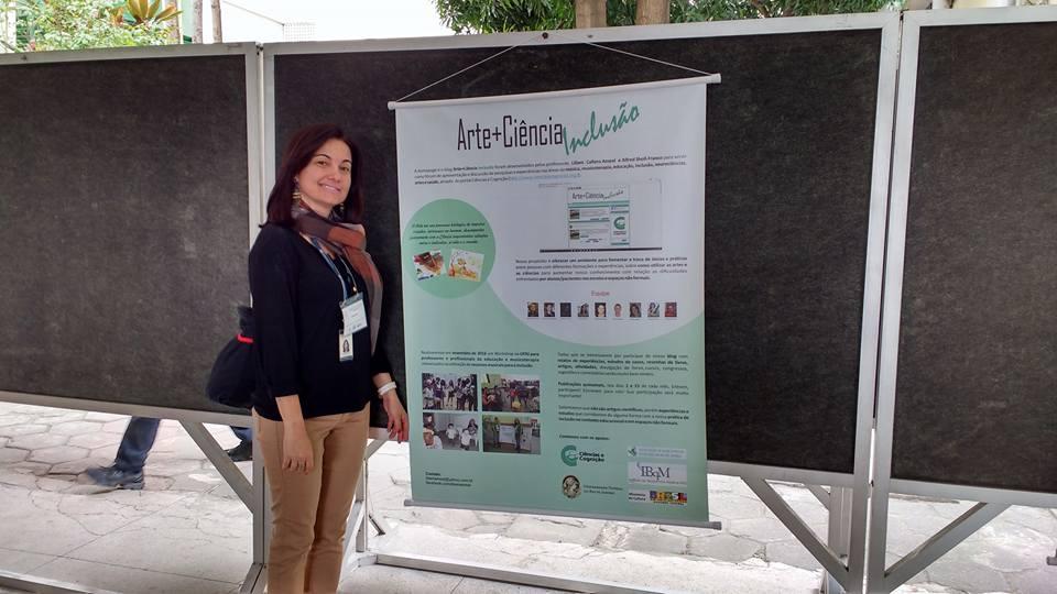 """Projeto """"Arte + Ciências Inclusão"""" no X Encontro Regional ABEM e III Encontro de Educação Musical"""