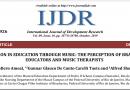 Inclusão na Educação através da música: a percepção de educadores e musicoterapeutas brasileiros [artigo]