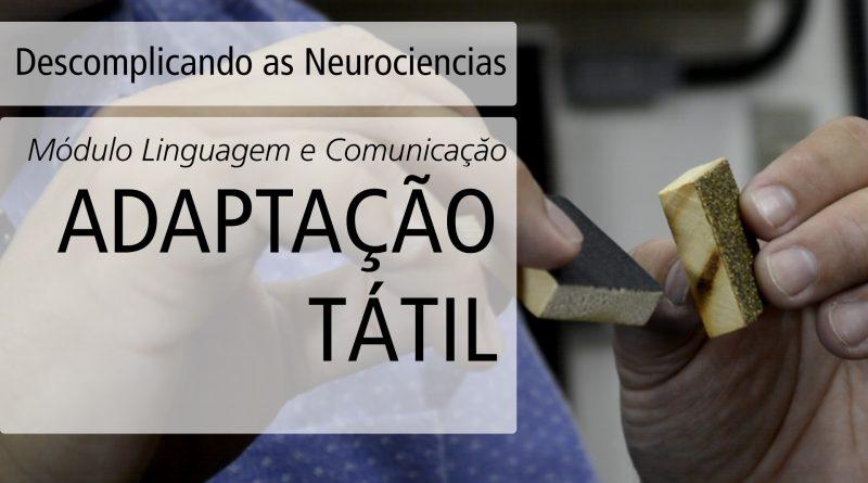 [Vídeo] Adaptação Tátil  | Descomplicando as Neurociências
