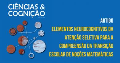 Elementos neurocognitivos da atenção seletiva para a compreensão da transição escolar de noções matemáticas
