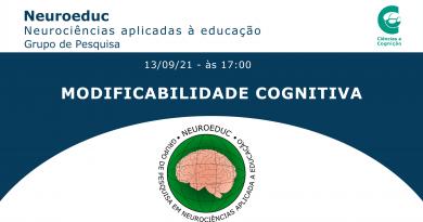 Ciclo de estudo: Modificabilidade Cognitiva – 13/09
