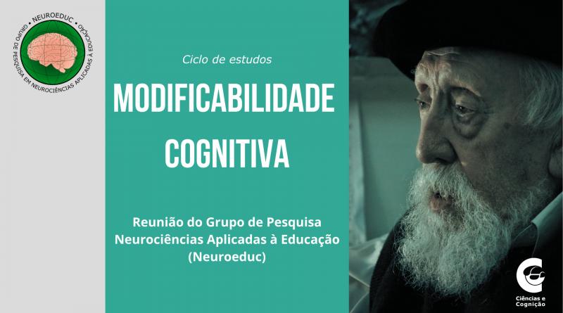 Ciclo de estudo: Modificabilidade Cognitiva (5o. encontro) – 04/10