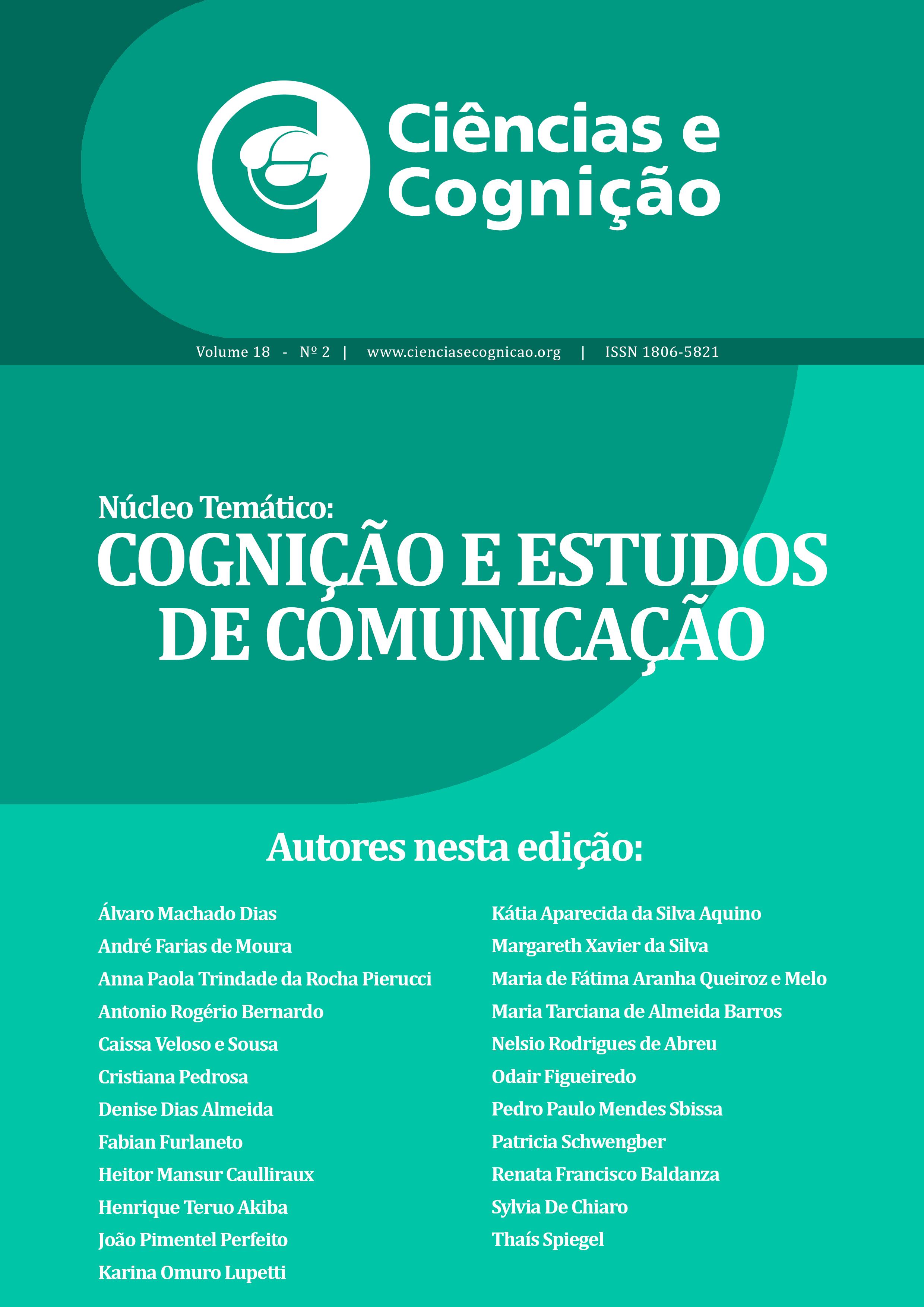 Cienc. Cogn., V. 18 (2), 2013