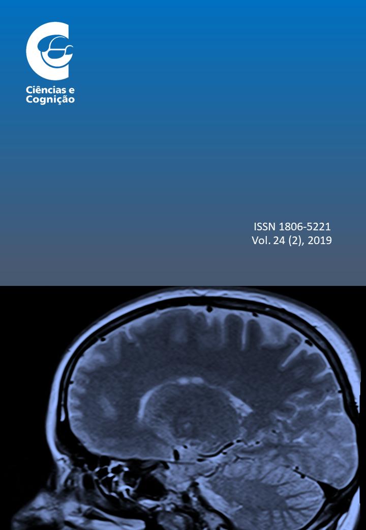 Capa do volume 29, fascículo 2, da revista científica Ciências & Cognição